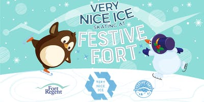 Very Nice Ice Skating at Festive Fort (Mon 30th Dec to Sun 5th Jan)