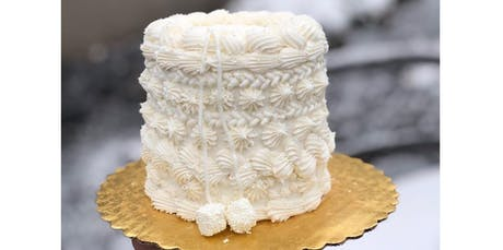 Winter Sweater Cake Decorating Class (01-15-2020 starts at 6:00 PM) tickets