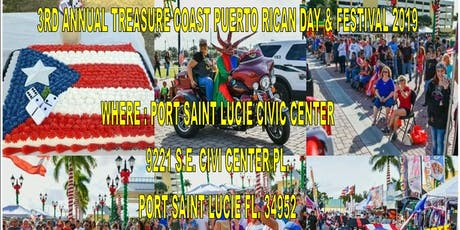 Treasure Coast Puerto Rican Day Parade & Festival 2019 tickets