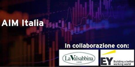 AIM Italia: Mercato Alternativo del Capitale. Attori ed opportunità biglietti