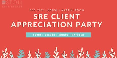 SRE Client Appreciation Holiday Party tickets