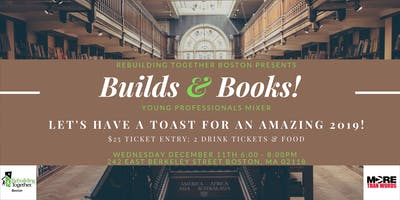 Builds & Books: Young Professionals Mixer