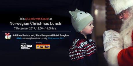 Norwegian Christmas Lunch tickets