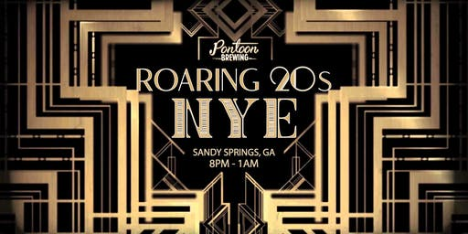 Roaring 20's New Years Eve Party at Pontoon Brewing