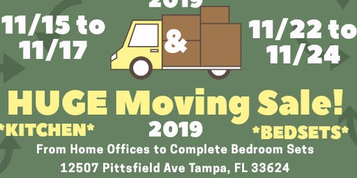 Tampa Moving Sale