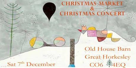 Christmas Market & Concert tickets