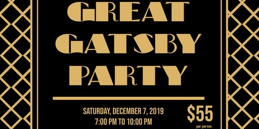 Great Gatsby Holiday Gathering
