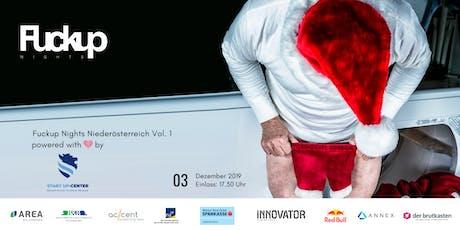 Fuckup Nights Niederösterreich Vol 1   powered by FH Wiener Neustadt Tickets