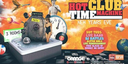 Hot Club Time Machine ll NYE ll Take A Dip Into The Unknown