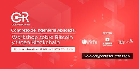 Congreso de Ingeniería aplicada - Workshop Bitcoin & Blockchain entradas