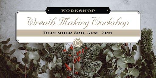Holiday Wreath Making Workshop