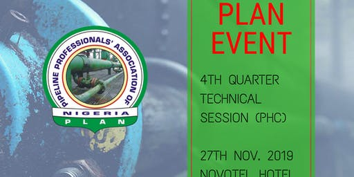 PLAN 4th Quarter Technical Session 2019 (PHC)