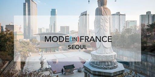 MODE (IN) FRANCE Séoul 30janvier - 1er février 2020
