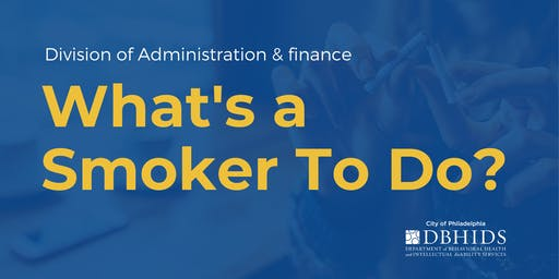 What's a Smoker to Do?