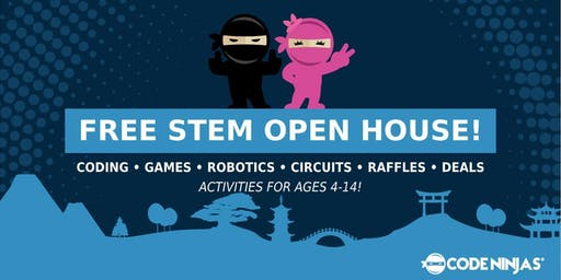 Fall STEM Open House for Ages 4-14 (Free Event)!
