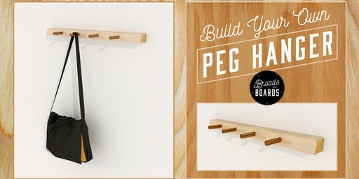 Build Your Own Peg Hanger