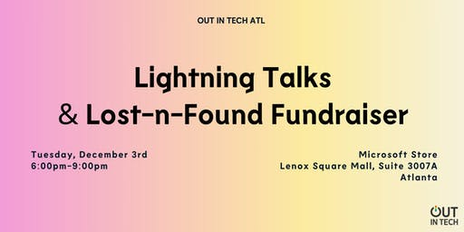 Out in Tech ATL | Lightning Talks at Microsoft