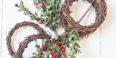 Annual Make-Your-Own Boxwood Holiday Wreath tickets