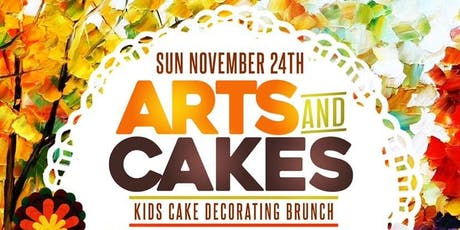 """Arts & Cakes""- Kids Cake Decorating Brunch  tickets"