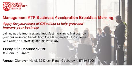 Management KTP Business Acceleration Breakfast Morning tickets