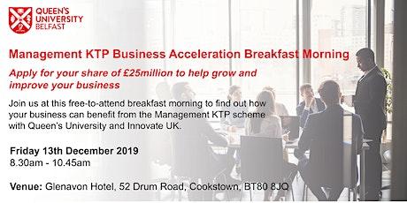 Management KTP Business Acceleration Breakfast Morning tickets