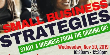 Small Business Strategies tickets