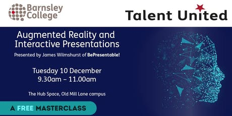 Augmented Reality Masterclass tickets