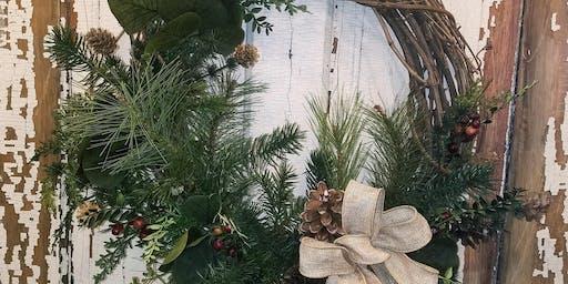 Grapevine & Greenery Wreath Workshop