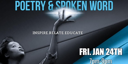Poetry & Spoken Word (Jan 24th)