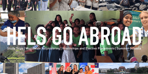 HELS Go Abroad Launch Event