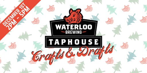 Crafts & Drafts Christmas Market at Waterloo Brewing