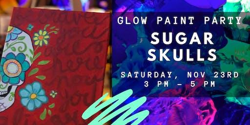 Glow Paint Party ::: Sugar Skulls
