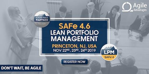 SAFe Lean Portfolio Manager Training with LPM Certification - Princeton, NJ