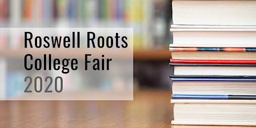 Roswell Roots 2020 College Fair: Student Registration