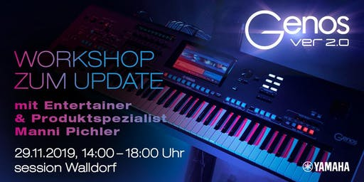 YAMAHA GENOS 2.0 - Workshop zum Update mit Manni Pichler