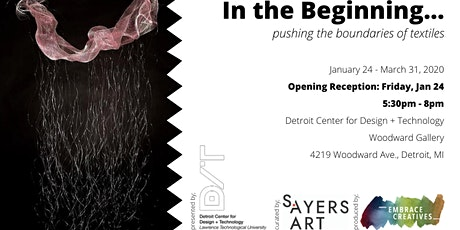 Exhibit: In The Beginning... pushing the boundaries of textiles tickets