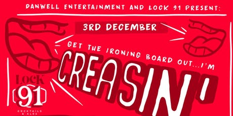 CREASIN'! Comedy night - 3rd December tickets