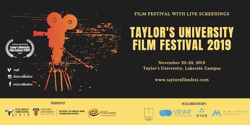 Taylor's University Film Festival 2019