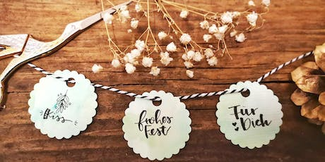 My Xmas Moment - Handlettering Workshop Tickets