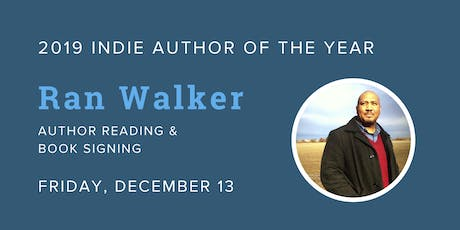 Ran Walker - 2019 Indie Author of the Year @ Blue Bicycle Books tickets