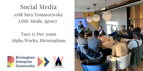 FORWARD Accelerator Programme: Social Media with Sara Tomaszewska tickets