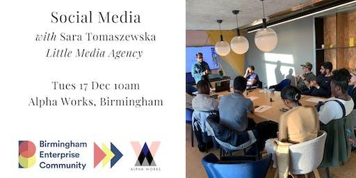 FORWARD Accelerator Programme: Social Media with Sara Tomaszewska
