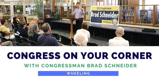 Congress On Your Corner: Wheeling