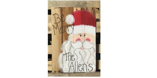 Rustic Holiday! Pallet Board Launch Class