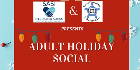 SASI/SCTL Adult Holiday Social tickets