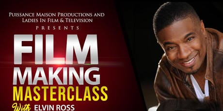 FILM MAKING MASTERCLASS WITH ELVIN ROSS tickets