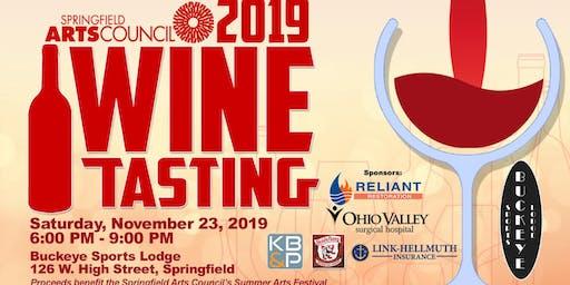 Springfield Arts Council's Wine Tasting 2019