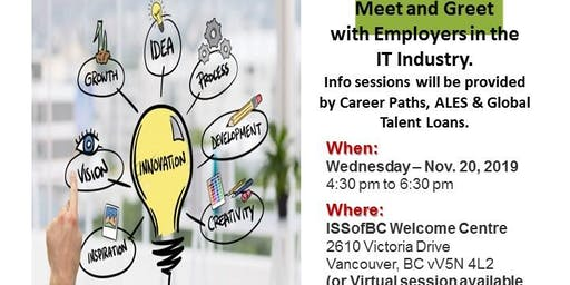 Career Talk and Networking event for IT Professionals