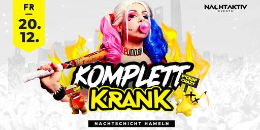 KOMPLETT KRANK! - Privatparty!