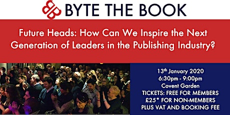 Future Heads: Tomorrow's Publishing Leaders Sponsored by Ingram  tickets